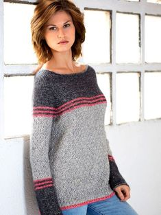 2fe77bb8a 15 Best Easy sweater knitting patterns for beginners images