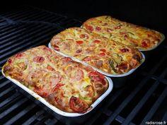 Recette de Flan de légumes facile et rapide au four ou au barbecue par radis rose