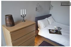 Bright Georgian flat nr Princes St, $107, queen size double bed - WI FI