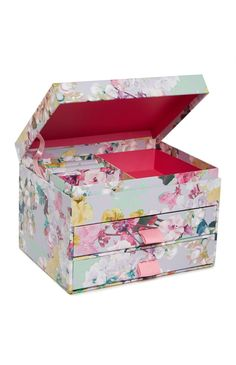 Primark - Floral Jewellery Box
