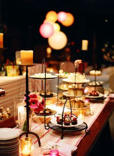 dessert table, because really, who wants one single piece of cake?