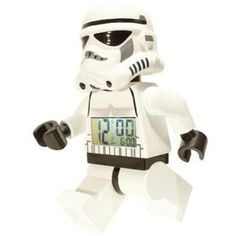 Star wars Lego minifigure clock - storm trooper.