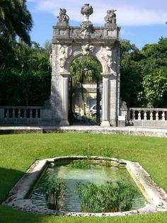 Vizcaya now named the Vizcaya Museum and Gardens is the former