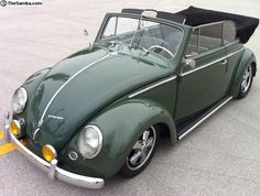 VW Classifieds - Vert w/Stock Suspension/Engine/Trans Available Cabrio Vw, Vw Cabriolet, Doka, Vw Beetle Convertible, Green Beetle, Kdf Wagen, Vw Classic, Vw Cars, Buggy
