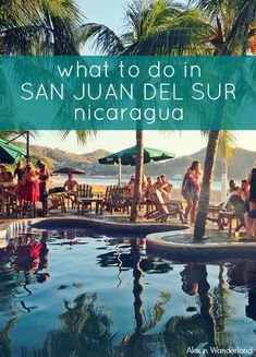 There's SO much more to do in San Juan del Sur, Nicaragua, than partake in the local party scene (but that's fun too!).  Take a yoga class, ride horses on the beach, learn how to surf, take a catamaran cruise at sunset, or just enjoy the beautiful scenery. #howtosurf