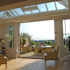 Frame a lovely view | conservatory | country | Country Homes & Interiors