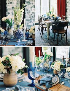 Love & Splendor workshop held at The Ace Hotel in downtown LA. Dinnerware by Casa de Perrin. See the full feature on Green Wedding Shoes!