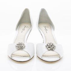NEW ELIZABETH Emerald bridal heels emerald wedding shoes peep