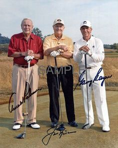 """Item specifics   Seller Notes: """"Photo Lab Made Professional High Quality Glossy Reprint!""""       Product:   8×10 Photo   Sport:   Golf     Reproduction:   Reprint Autograph   Player:  ... - #Golf https://lastreviews.net/sports-fitness/golf/jack-nicklaus-arnold-palmer-gary-player-signed-golf-legends-8x10-reprint-photo/"""