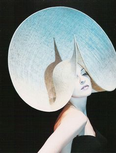 Philip Treacy couture hat