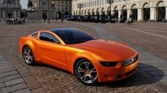 Old Concept Cars Ford Mustang Giugiaro