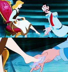 I've always wanted Cinderella shoes..