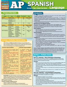 AP SPANISH STUDY GUIDE (eBook Rental)