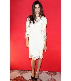 Julia Restoin Roitfeld wearing Dolce Vita Dress