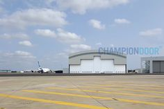 Champion Door rigid frame construction makes them ideal for large-scale exterior door locations such as aircraft hangars, in all sizes from military planes to jumbo jets Jumbo Jet, Exterior Doors, Jets, Planes, Champion, Aircraft, Scale, Military, Construction