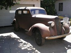1936 Plymouth 4 Door Sedan, Suicide Rear Doors
