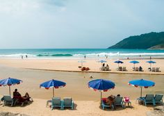 #NaiHarnBeach is located on the southern tip of Phuket. The quiet beach offers a scenic view, which would truly enchant anyone. Behind the beach is the Samnak Song Nai Harn monastery and on its north is the Le Meridien Phuket Yacht Club.  http://beach-tours.tourtravelworld.com/exoctic-beaches/nai-harn-beach.htm