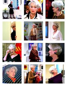 The Devil Wears Prada Hairstyles Meryl Streep Side Swept Hairstyle With Ideas Hairstyles
