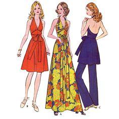 McCalls 3206 halter dress | Flickr - Photo Sharing!