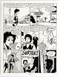 Jaime Hernandez Love and Rockets #9 Story Page 7 Original Art (Fantagraphics, 1984)