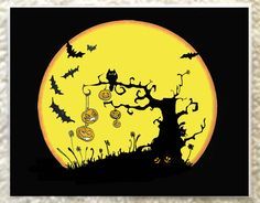 Original Art, Music, and Candles by soundsandscribbles Local Artists, Art Music, Happy Halloween, Original Artwork, My Arts, Greeting Cards, Candles, The Originals, Unique Jewelry