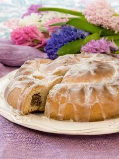 Σφιχτό γεμιστό τσουρέκι Pudding, Pie, Desserts, Food, Torte, Tailgate Desserts, Cake, Deserts, Custard Pudding