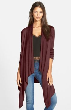 Love this look Leith Waterfall Open Front Cardigan available at #Nordstrom