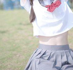 Japanese School Girl Cosplay girl and japanese image - School Girl Outfit, Girl Outfits, Japanese Girlfriend, Cute Tights, Japanese School Uniform, Innocent Girl, Cute Japanese, Japan Girl, Sexy Skirt