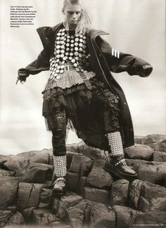 47 Warrior Fashion Finds - From Gawky Warrior Editorials to Studded Warrior Dresses