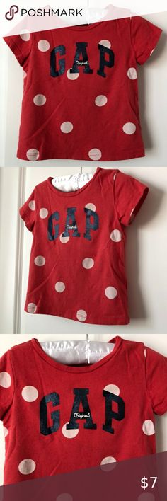 Baby Boys GAP Shirts Long Sleeve Baseball Style Logo Toddler Choose Color//Size