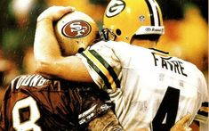 Green Bay Packers, San Francisco 49ers rivalry wasn't much of a rivalry: http://www.totalpackers.com/2013/01/09/packers-49ers-playoff-rivalry-wasnt-much-of-rivalry-after-all/