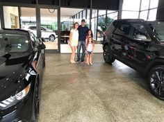 The Gerdes family and their new Mustang and Explorer! Thank you for choosing Koons Ford. #FordFamily #TeamKoons #allsmiles #YoureGonnaLoveIt #Annapolis