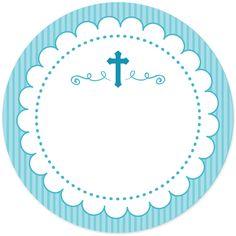 Baptism Favors, Baptism Party, Boy Baptism, Christening, Première Communion, First Holy Communion, Deco Baby Shower, Communion Invitations, Baby Scrapbook