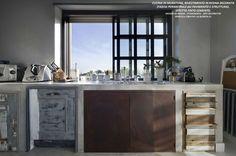 la quercia 21 cucina | www.studioadp21.it Arti Decorative PIANO CUCINA IN RESINA, DECORO IN ...