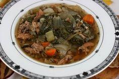 Turkey leftovers?  Crockpot - Turkey and Wild Rice Soup