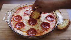 A surpreendente e deliciosa Pizza Cremosa | SOS Solteiros