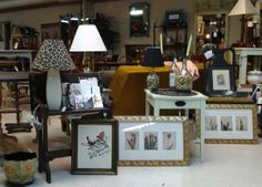 Tables & lamps & pictures, oh, my!
