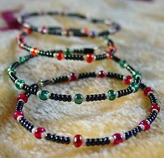 Easy Beaded Stacking Bracelets | AllFreeJewelryMaking.com