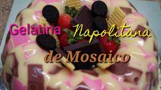 Gelatina Napolitana de Mosaico / se puede hacer en vasitos para vender