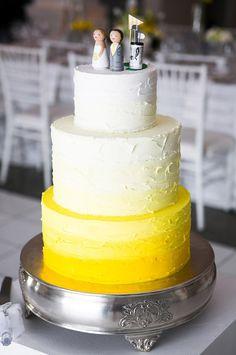 Yellow Grey White Wedding Ideas