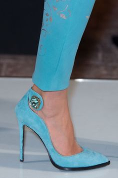How gorgeous are these blue suede pumps? For more fashion and wedding inspiration visit www.finditforweddings.com Blue shoes