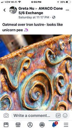 Hand Built Pottery, Slab Pottery, Glazes For Pottery, Ceramic Pottery, Pottery Art, Pottery Ideas, Glazing Techniques, Pottery Techniques, Ceramic Pots