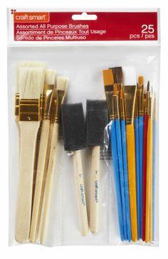 a good set to start painting :) Brush Set, Custom Framing, Art Supplies, Crafts, Painting, Paintings, Manualidades, Face Brush Set, Painting Art