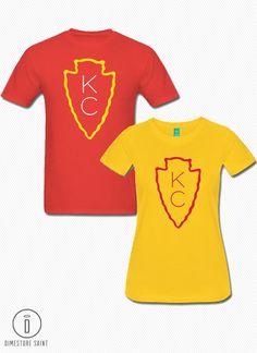 KC Chiefs Arrowhead T Shirt Men s and by DimestoreSaintDesign Chiefs  Football af7e9bdbf