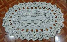 Tapete de Barbante passo a passo (Com gráficos e moldes!) Owl Rug, Crochet Squares, Doilies, Free Pattern, Carpet, Rugs, Facebook, Home Decor, Crochet Rug Patterns