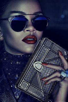Rihanna by Steven Klein for Dior Secret Garden 2015 1