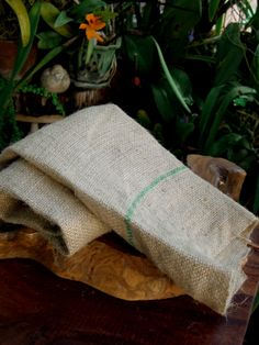 "Natural Feed Bag Burlap 22"" x 35"". Great for fall decorating. (saveoncrafts.com)"
