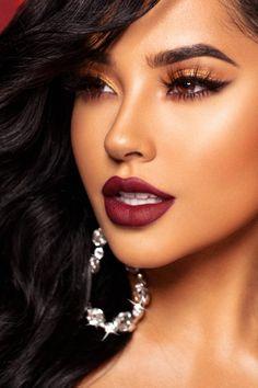 Make Up; Make Up Looks; Make Up Augen; Make Up Prom;Make Up Face; Heavy Makeup, Glam Makeup, Makeup Inspo, Eyeshadow Makeup, Bridal Makeup, Makeup Inspiration, Face Makeup, Makeup Light, Eyeshadow Palette