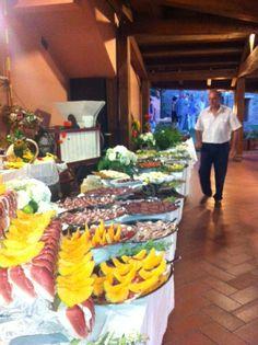 Buffet tipico maremmano Agriturismo Poggio Corbello