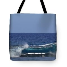 Tote Bags - Tunnel Wave Tote Bag by Pamela Walton